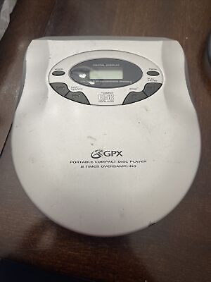 Vintage GPX C3849 Potable CD Player Personal CD Player Tested Works!