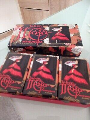 Jabon Maja Myrurcia Box Set Rarität 3Stck.a 81g mit OVP Seife