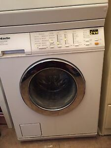 Miele Touchtronic W1213 Washer & Touchtronic T1423 Dryer