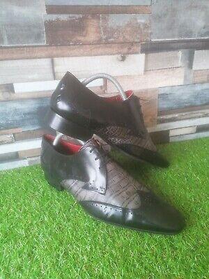 Men's Jeffery West Black Line Shoes Size 8 UK 42 Eur