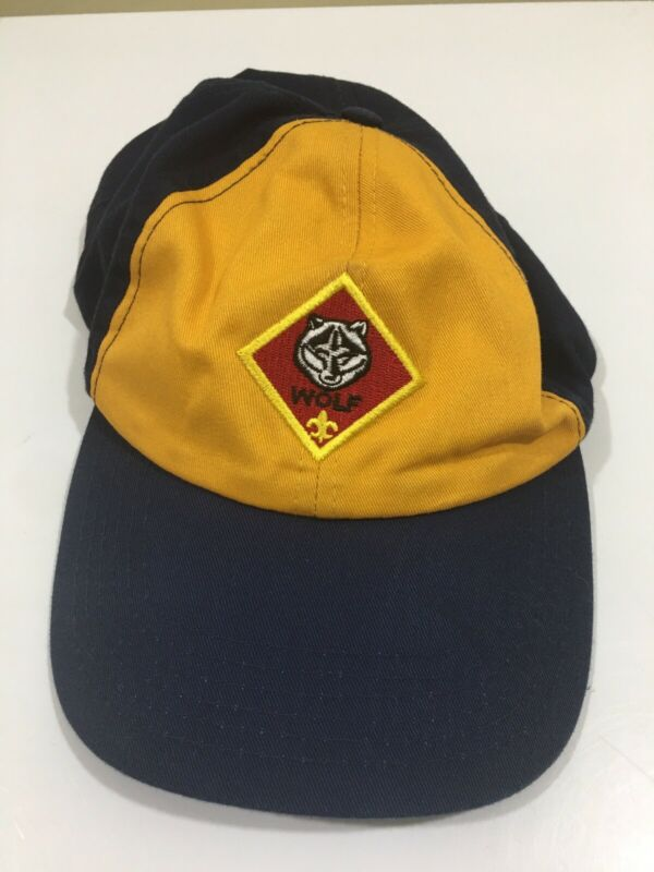 Wolf Cub Scout Yellow Blue Hat