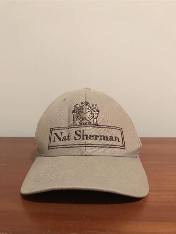 Nat Sherman Classic Light Brown/Tan Hat with Flexfit