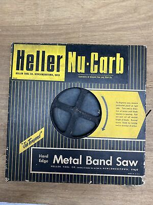 Heller Nu-carb Simonds Hard Edge Metal Band Saw Coil 14 14tpi About 100 Feet