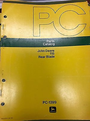 parts catalogue john deere