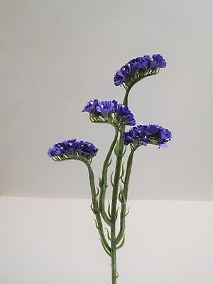 Statice Seidenblume Kunstblume Kunstpflanze 62 cm lila violett  N-12144-6 F62