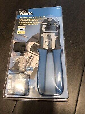 Ideal Telephone Data Crimp Tool Kit - Rj-45rj-11