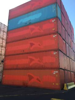 New, Used & Refurbished Shipping Containers for sale ex MEL