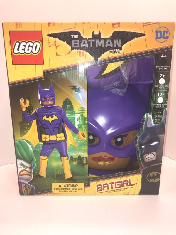 Lego Movie Batgirl Halloween Costume Brand New Size Small 4+
