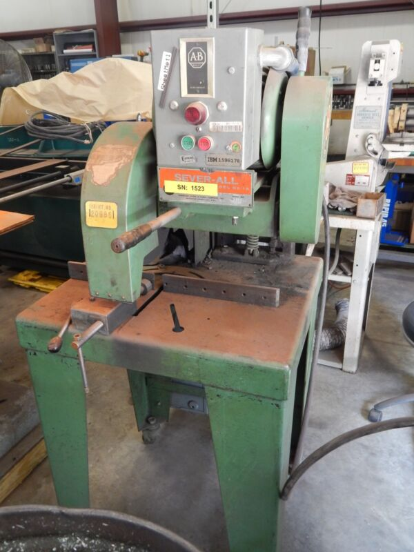 3 HP ACCO-CAMPBELL SEVER-ALL Abrasive Cut Off Saw Model 1A