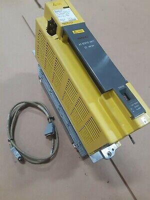 Fanuc Ltd. Servo Amplifier Unit A06b-6089-h104 With Cable 60 Day Warranty