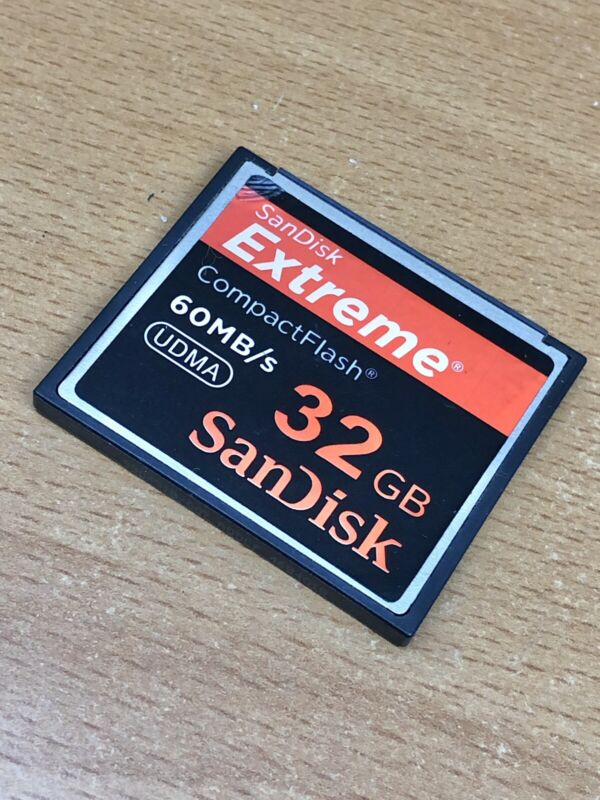 SanDisk Extreme 32 GB CF Card 60 MB/s (Same Day Shipping)