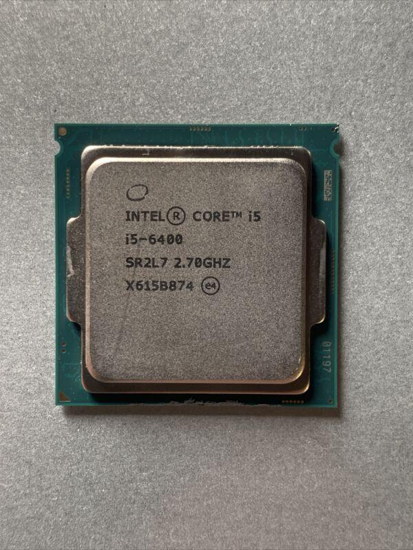 Intel i5-6400 SR2L7 Quad Core 2.7GHz LGA 1151 Desktop Processor | Tested Working