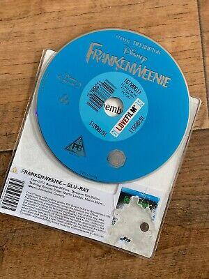Animated Halloween Movies Tim Burton (Frankenweenie Blu-ray DISC ONLY  (2013) Tim Burton Animated Disney)