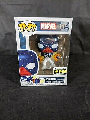 Funko Pop! Heroes: Marvel Comics - Spider-Man (Captain Universe) Figure...