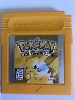 Pokemon Yellow Version Special Pikachu Edition (Game Boy) Authentic!