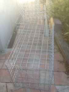 Gabion cage Pearce Woden Valley Preview