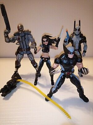 "Marvel Legends Hasbro 6"" Wolverine X-23 Deathlok Deadpool X-force action figures"