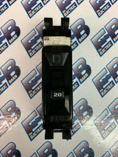 FPE NEF 20 AMP 1 POLE 277 VOLT Circuit Breaker- WARRANTY