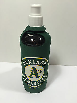 Oakland Athletics Logo Neoprene 1/2 Liter Water Bottle Cover Holder - Oakland Athletics Water