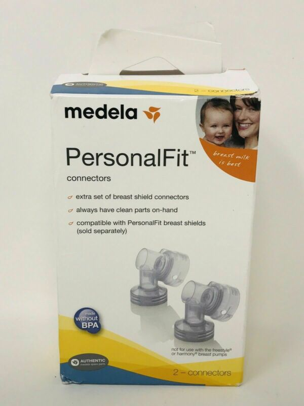 Medela PersonalFit Connectors, Compatible with Most Medela Breast Pumps BPA Free