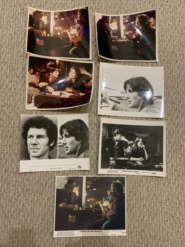 1 Looking For Mr. Goodbar Richard Gere Lobby Cards And 6 Movie Photos Original
