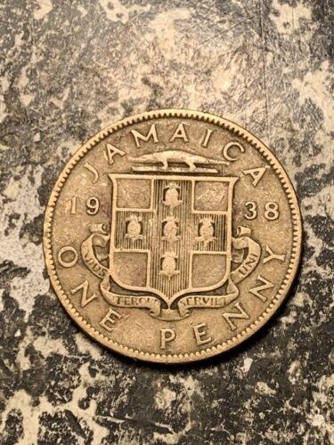 1938 Jamaica 1 Penny Lot#Q8923