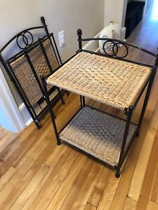 Two night stands or end tables