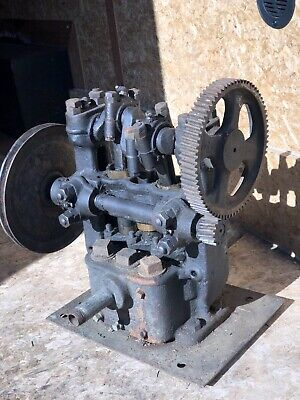 Small Worthington Open Frame Tri-plex Water Pump Hit Miss Gas Steam Engine
