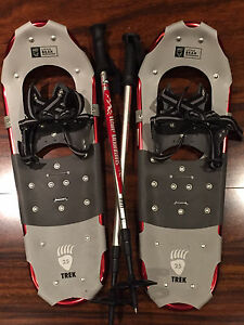 Ladies SnowShoes with Poles