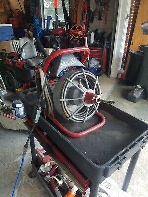 Electric Eel Model E Plumbing Drain Snake Rooter Auger - 50 Ft