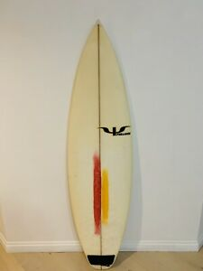 "Psillakis Gypsy Surfboard 5'10"" with Fins"