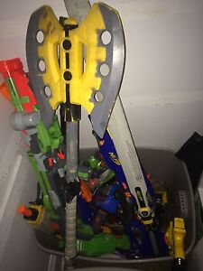 12+ Nerf toys and bullets