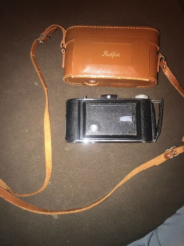 Franka Rolfix II 6x9 Camera RODENSTOCK TRINAR 1:3.5 105 MM With Leather Case