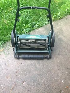 "Reel lawn mower, 14"" wide $50 firm"