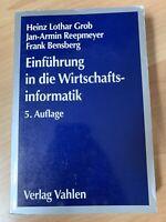 Einführung in die Wirtschaftsinformatik (Fachbuch, Uni Münster) Niedersachsen - Neuenkirchen-Vörden Vorschau