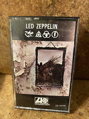 Led Zeppelin IV ( Cassette Tape ) Atlantic