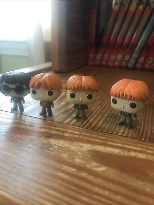 FUNKO POP Advent Calendar 2018 Mini Harry Potter HARRY RON GEORGE FRED W/SWEATER