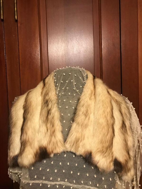 Vintage Nutria?? Fur Collar