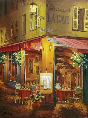 "Viktor Shvaiko ""dinner At La Cave"" 