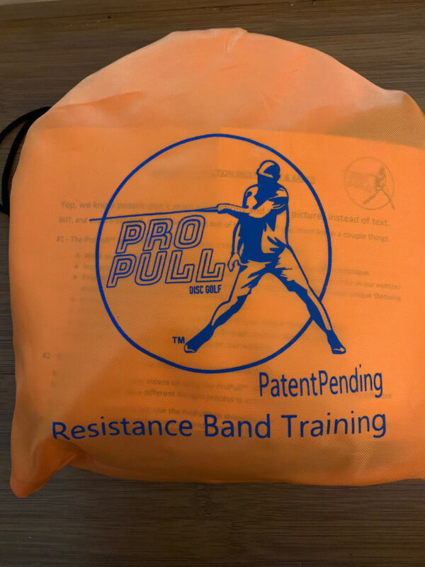 Pro Pull Resistance Trainer Disc Golf - Improve Speed