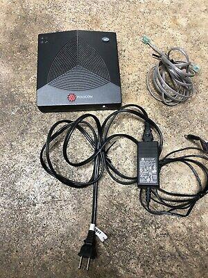 Polycom Soundstation 2w Wireless Base Receiver 1.9ghz 2201-67810-160 W Ac Adapt