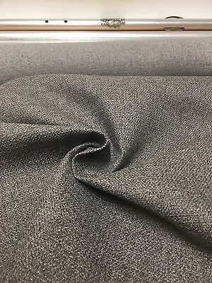 MARK & SPENCER / NEXT BROWN CHENILLE UPHOLSTERY FABRIC 2.9 METRES
