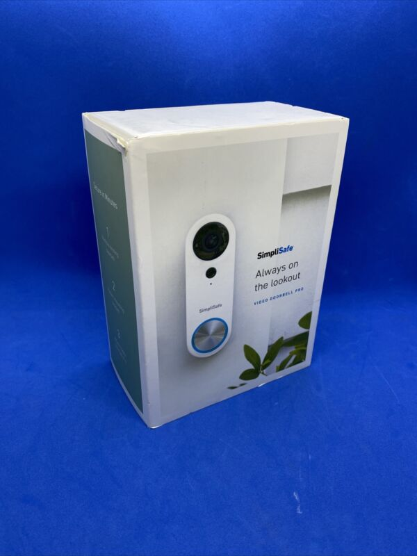 SimpliSafe SSDB3 Wi-Fi Video Doorbell Pro Wired Camera Pre-owned