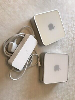 Apple Mac mini 1 G4 A1103 And 1 Intel A1283