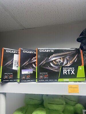 Gigabyte GeForce RTX 2060 Mini ITX OC 6G Graphics Card, Mini ITX Form Factor