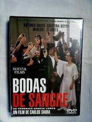 Bodas de Sangre DVD Federico Garcia Lorca Carlos Saura film Cristina Hoyos