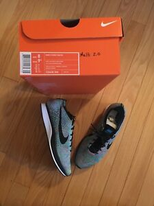 Nike fly knit racer 8us men 9.5 us women