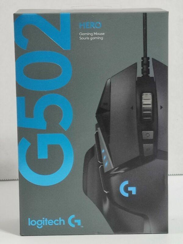 NEW SEALED! Logitech G502 HERO Optical Mouse - FREE SHIPPING!!!