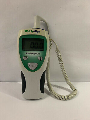 Welch Allyn Digital Thermometer Suretemp Plus 690 With Probe Mobile Temperature