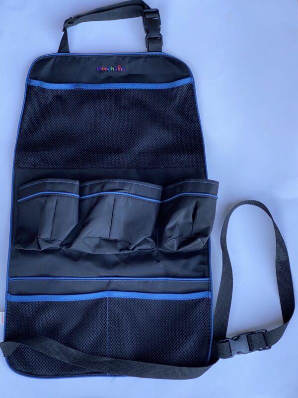 Munchkin Kids Car Backseat Storage Organizer Holder, Travel Seat Backs , Black